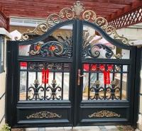 山东别墅铝艺大门 庭院大门 尽在辰硕金属 现货销售
