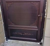 庭院铝艺大门 雕花镂空铝艺大门 定制批发多规格大门 铝艺自动平移大门