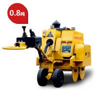 钢轮压路机型号高配置手扶式双钢轮压路机