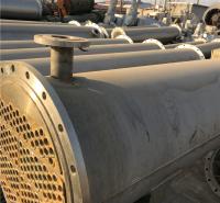 山东长期供应列管不锈钢冷凝器 二手不锈钢冷凝器 多种平方均有