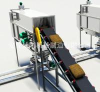 瓦石灰自动破袋机 密闭自动拆袋机 自动拆包机产品介绍