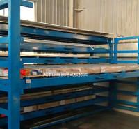 多层储存钢板货架 江苏卧式板材货架承重要求  4米板材存放架子