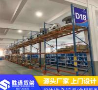 货架电话   胜通货架厂   滚轮架   生产重型仓储货架  仓库展示架  库房置物3000KG