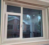 断桥铝合金平开窗 内外平框隔热隔音金刚网纱窗包阳台门窗定制