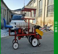 可在麦田预留地移栽辣椒机 山一自走式麦田套种辣椒机操作方便适合麦田套种