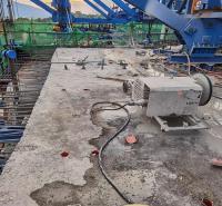 工程团队施工 水泥道路路面切割 桥梁水下静力切割