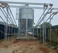 猪场养殖设备自动一体化喂料机镀锌管塞盘料线可定制