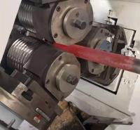 高频中空锚杆加热滚丝设备 定制道钉热滚高频加热设备 节能省电 效果佳