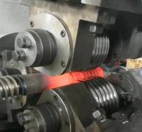 高频中空锚杆加热滚丝设备 道钉中频透热锻造炉 五祥电子 精选厂家