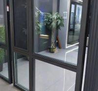 厂家批发 100断桥推拉窗 隔热铝门窗 窗纱一体平开窗 志红门窗