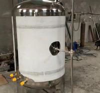 化工行业用不锈钢乳化罐  不锈钢乳化罐价格 选用304加厚板材
