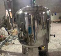 万鑫不锈钢罐不锈钢洗化罐  不锈钢洗化罐厂家 重量轻且风载荷小