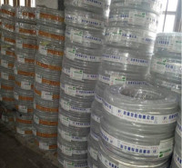 厂家出售透明PVC纤维增强软管   网线防静电软管   价格实惠