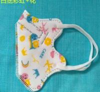 值得分享 立体印花口罩  挂耳式儿童口罩生产商  银龙