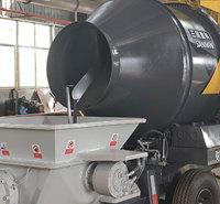 混凝土泵车市场供应 量大从优 二手搅拌带配料机泵车 二手搅拌泵车