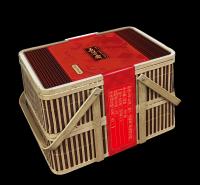 五芳斋 粽子竹篮礼盒 端午节送礼嘉兴特产 端午粽子大礼包 欢沁五芳礼篮粽1500g