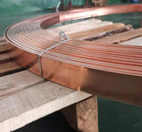 地网镀铜扁钢 铜包钢扁钢接地网连接线 扁钢镀铜加工厂 锴盛防雷制造