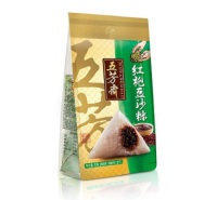 五芳斋粽子 真空100g*2红袍豆沙粽 江苏粽子厂家 粽子厂家直销  端午节礼盒