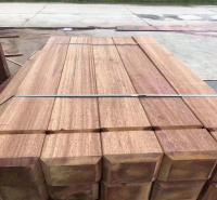 付迪木业 定制印尼菠萝格凉亭木料 定制非洲菠萝格地板价格