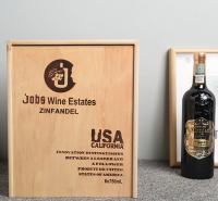 红酒盒 红酒包装盒 木质红酒木箱 六支葡萄酒礼盒 6支装红酒木盒