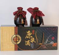 250ML烤花玻璃瓶 郓城富兴酒类包装
