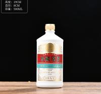 无铅加厚白玻璃酒瓶 郓城富兴酒类包装