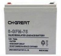 现货直销-格瑞特蓄电池12V75AH 6-FM-75 铅酸免维护 UPS专用电源