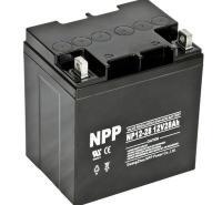 NPP耐普蓄电池NP12-28 12V28AH 免维护铅酸蓄电池 UPS太阳能照明控制器计算机设备消
