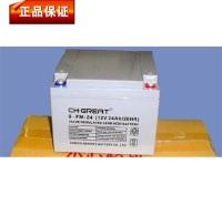 格瑞特免维护蓄电池GREAT6-GFM-24 12V24AH通讯机房UPS EPS专用电源