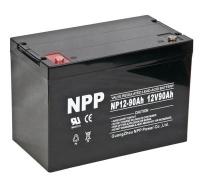 NPP 耐普蓄电池 NP12-90 太阳能免维护蓄电池 12V90AH UPS电源路灯电力机房逆变器