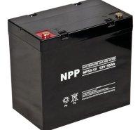 NPP耐普蓄电池NP12-55 12V55AH 免维护铅酸 UPS直流屏 消防 照明医疗太阳能路灯电