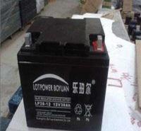 乐珀尔蓄电池 6FM-38 12V38AH UPS EPS 胶体直流屏 消防警报主机