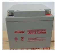 乐珀尔 LOTPOWER 蓄电池LP24-12 12V24AH 太阳能EPS UPS电源专用