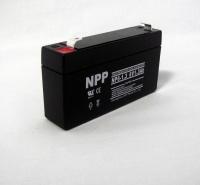 NPP耐普蓄电池NP12-1.3 12V1.3AH电梯UPS电源EPS应急消防报警设备消防电梯门禁医