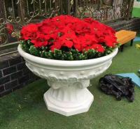 玻璃钢花盆 仿古花箱 绿化花箱 各种型号 花盆 现货供应