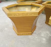 木纹花盆 玻璃钢花盆 仿古花箱 各种型号 花盆 现货供应