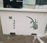厂家出售 玻璃钢花盆 玻璃钢花箱 可定制户外商场道路花盆 来电报价