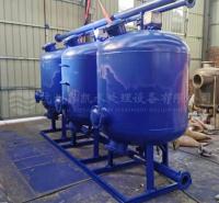 厂家直供鑫凯石英砂压力式过滤器不锈钢石英砂过滤器