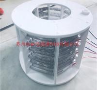 耐酸碱槽铁氟龙板式电加热器光伏PFA制绒加热器铁氟龙加热管