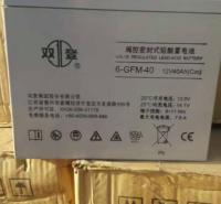 双登蓄电池6-GFM-40 12V40Ah 医疗设备 通讯UPS直流屏电力系统专用