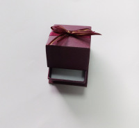 厂家供应珍珠饰品包装盒 精美纸质首饰盒定做批发