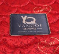 杨琪 红色喜庆床垫软硬适中席梦思弹簧床垫1.5 1.8m两面可用定制