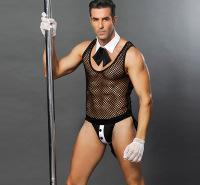 一件代发性感透视男仆情趣内衣男佣情趣内衣制服诱惑跨境专供