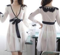 直销现货欧美外贸爆款情趣性感网纱内衣透明睡衣支持一件代发