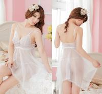 厂家直销欧美外贸蕾丝网纱诱惑情趣睡衣套装加大码吊带裙情趣内衣