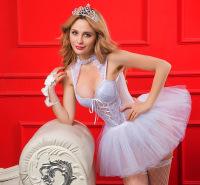 亚马逊跨境热卖内衣套装情趣睡衣性感诱惑公主装情趣厂家直销