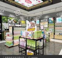 新款化妆品货架_名品柜台_美妆护肤柜_专业展柜厂家