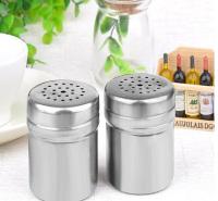 调料瓶烧烤调料罐不锈钢调味瓶带孔胡椒辣椒粉瓶孜然盒撒料洒粉器