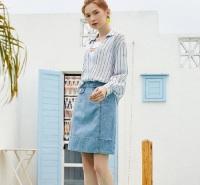 金蝶茜妮服装加盟 时尚女装厂家货源 广州女装品牌连锁开店