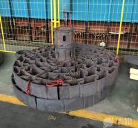 井式炉 热处理炉配件 热处理工装 大型风电轴承热处理承载